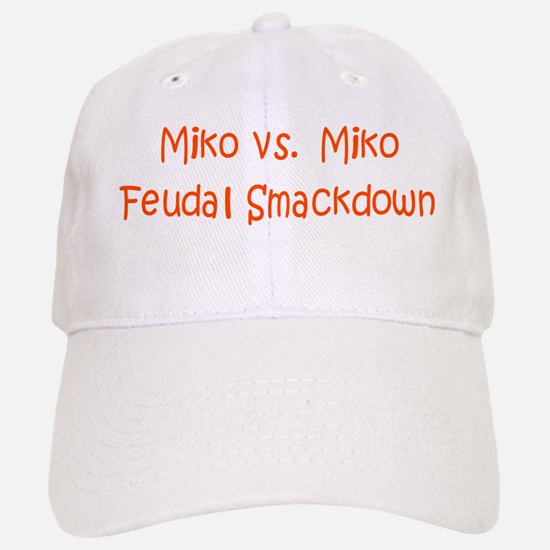 Miko Vs Miko Feudal Sm. Baseball Baseball Cap