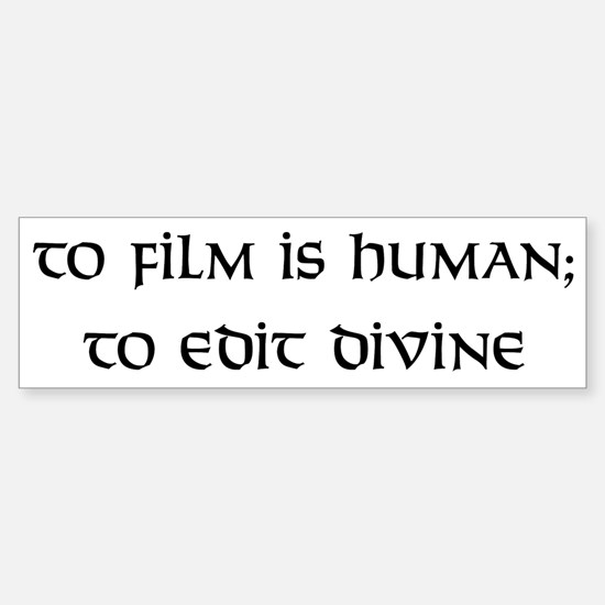 To edit divine Bumper Bumper Bumper Sticker