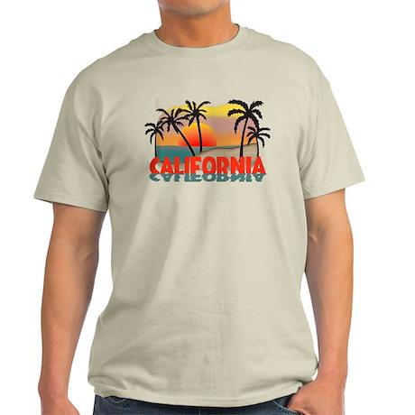 California Beaches Sunset Light T-Shirt