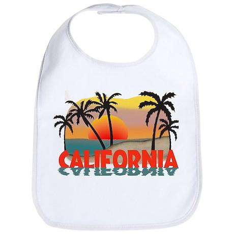 California Beaches Sunset Bib