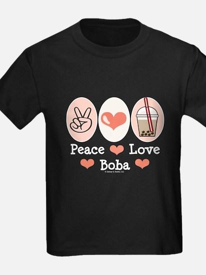 Peace Love Boba Bubble Tea T