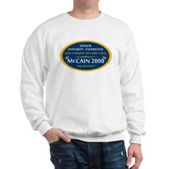 McCain & A Smokin' Hot 1st Lady Sweatshirt