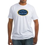McCain & A Smokin' Hot 1st Lady Fitted T-Shirt