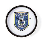 Togiak Police Wall Clock