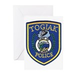Togiak Police Greeting Cards (Pk of 20)