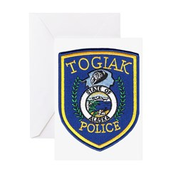 Togiak Police Greeting Card