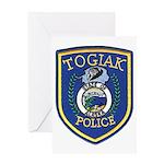 Togiak Police Greeting Card