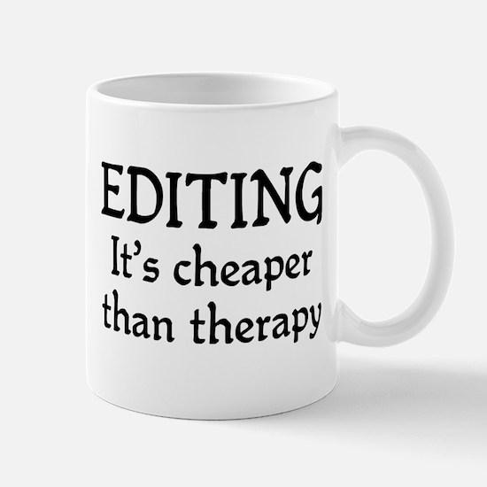 Editing therapy Mug