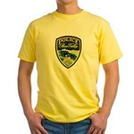 Bear Valley Police Yellow T-Shirt