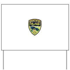 Bear Valley Police Yard Sign
