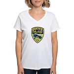 Bear Valley Police Women's V-Neck T-Shirt