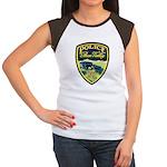 Bear Valley Police Women's Cap Sleeve T-Shirt