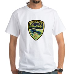 Bear Valley Police White T-Shirt
