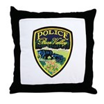 Bear Valley Police Throw Pillow