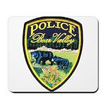 Bear Valley Police Mousepad