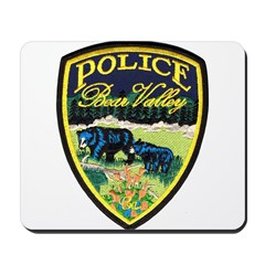 Bear Valley Police Mousepad