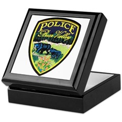 Bear Valley Police Keepsake Box
