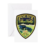 Bear Valley Police Greeting Card