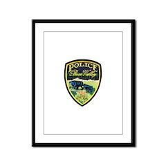 Bear Valley Police Framed Panel Print
