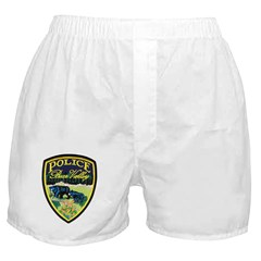 Bear Valley Police Boxer Shorts