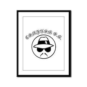 Compton O.G. Framed Panel Print