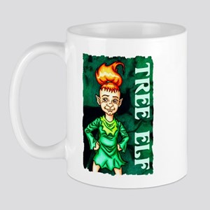 Whimsical Tree Elf Mug