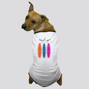 Surfer Johnnie's Surfboard Dog T-Shirt