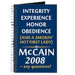 McCain For President Journal