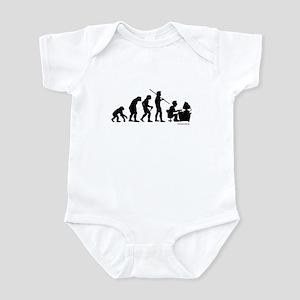 Computer Evolution Infant Bodysuit