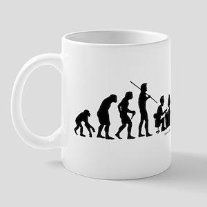 Computer Evolution Mug