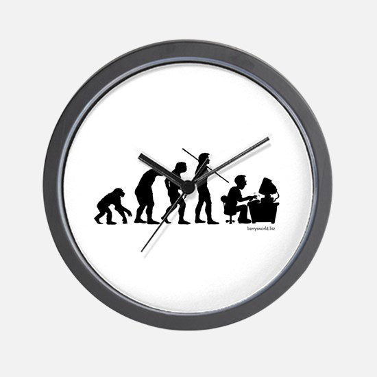Computer Evolution Wall Clock