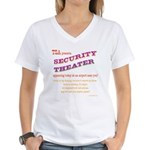 Security Theater Women's V-Neck T-Shirt