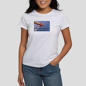God Is Left-Handed Women's T-Shirt