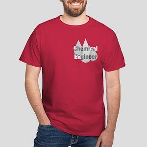 Gray Chemical Engineer Dark T-Shirt
