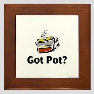 Got Pot? Framed Tile