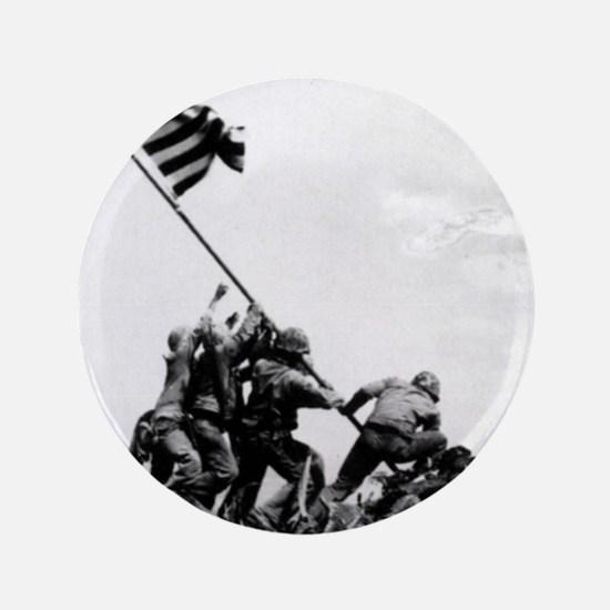 """Iwo Jima 3.5"""" Button"""