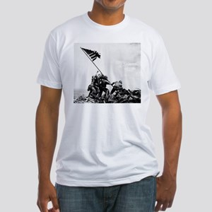Iwo Jima Fitted T-Shirt
