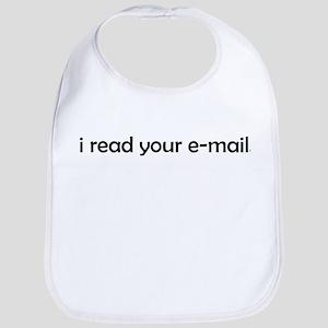 I read your e-mail Bib