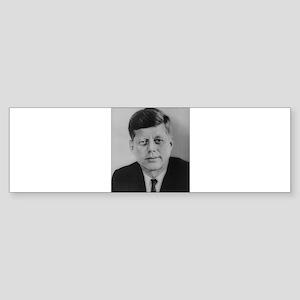 John F. Kennedy Bumper Sticker
