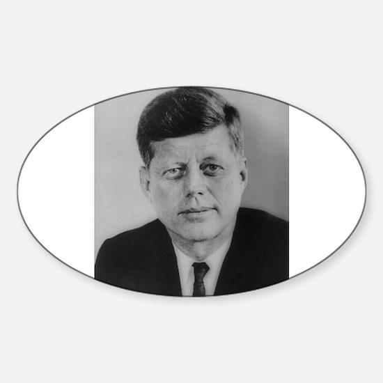 John F. Kennedy Oval Bumper Stickers