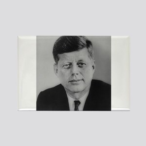 John F. Kennedy Rectangle Magnet