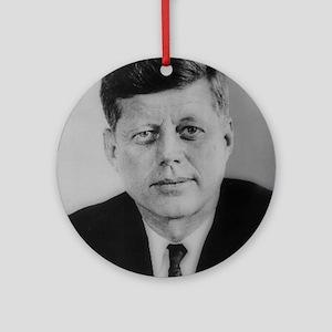 John F. Kennedy Ornament (Round)