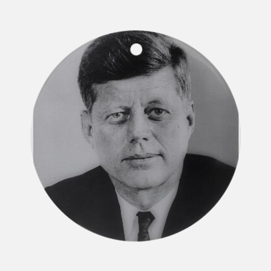 John F. Kennedy Ornament (Round)