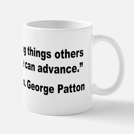 Patton Doing Things Quote Mug