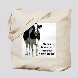 Smart Cow Tote Bag