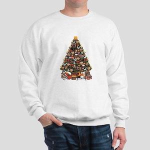 VICTORIAN CHRISTMAS TREE Sweatshirt