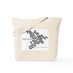 Crazy Arrows Tote Bag