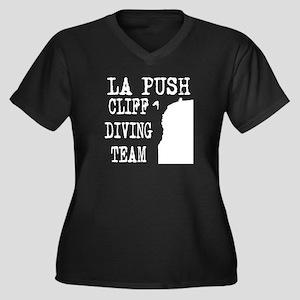 La Push Cliff Diving Team Women's Plus Size V-Neck