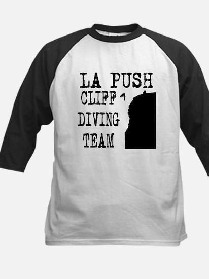 La Push Cliff Diving Team Kids Baseball Jersey