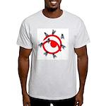 Flies on Asher Ash Grey T-Shirt